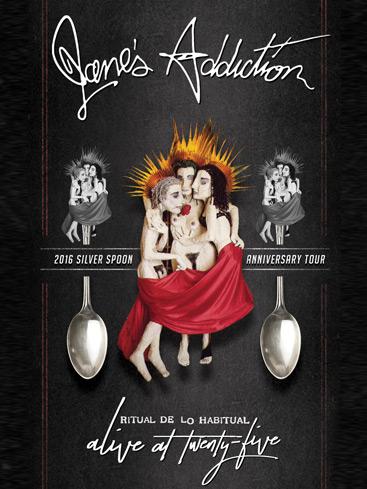 Jane's Addiction Prep 'Ritual de lo Habitual' 25th Anniversary Concert Film