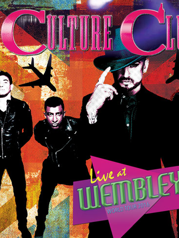 "Culture Club Set to Release CD/DVD/Blu-Ray/Vinyl with Original Members ""Live at Wembley"" Dec. 8th"