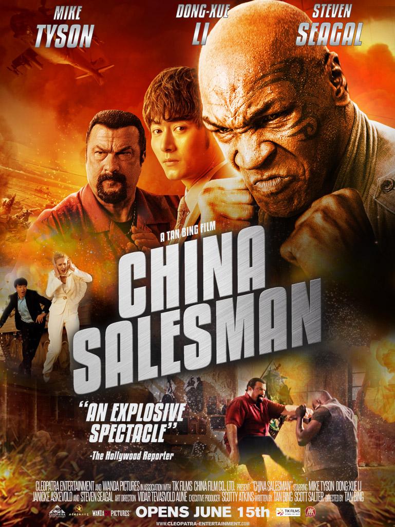 China Salesman - Mike Tyson - Dong-Xue Li - Steven Seagal